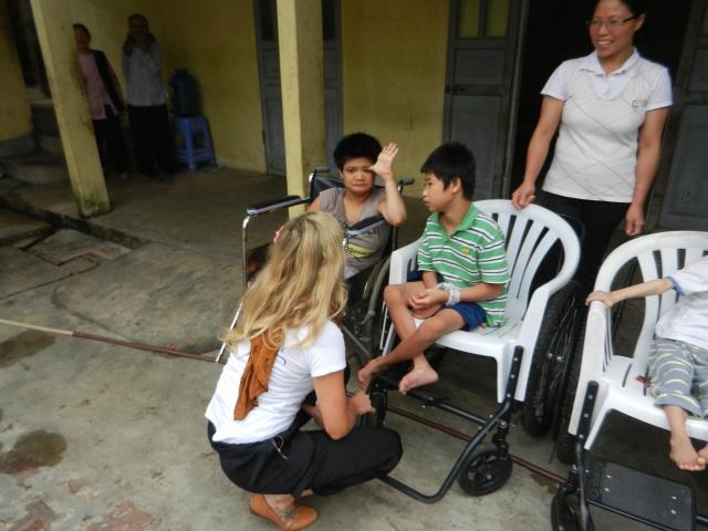 Sozialprojekt für behinderte Kinder Vietnam