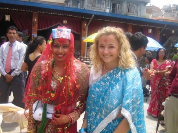 Tina in Nepal
